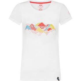 La Sportiva Hills T-Shirt Dames, white